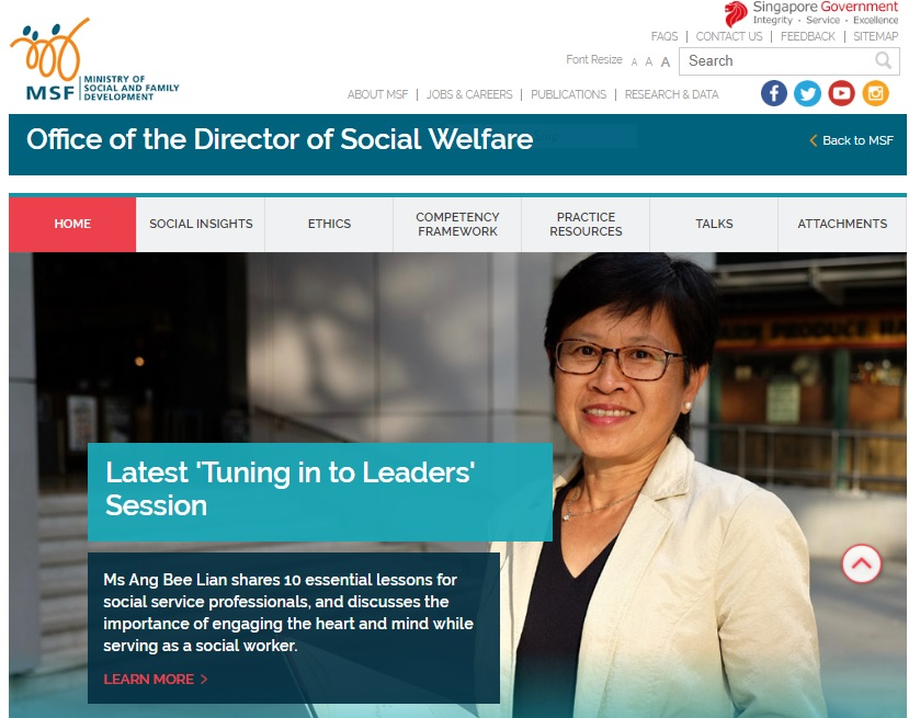 Office of the Director of Social Welfare