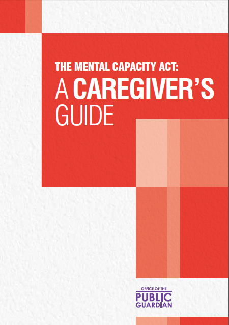 The Mental Capacity Act: A Caregiver