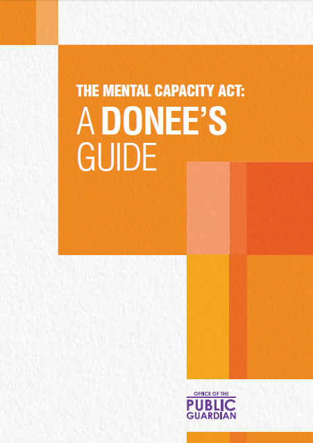 The Mental Capacity Act: A Donee