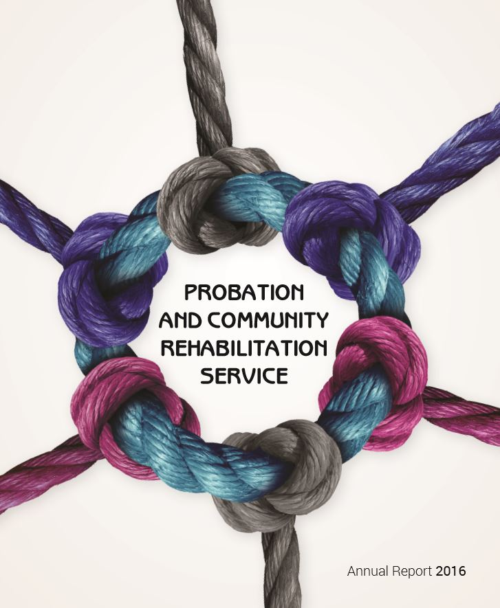 Probation and Community Rehabilitation Service Annual Report 2016